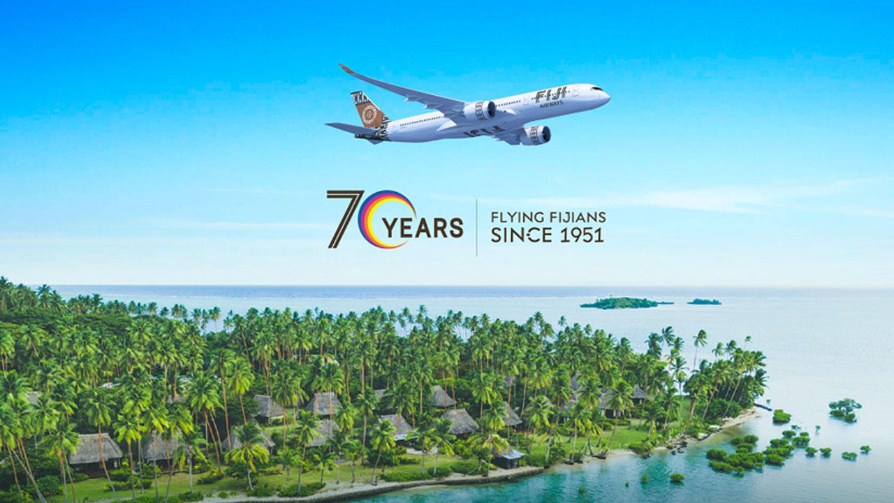 Fiji Airways celebrates 70 years flying from paradise